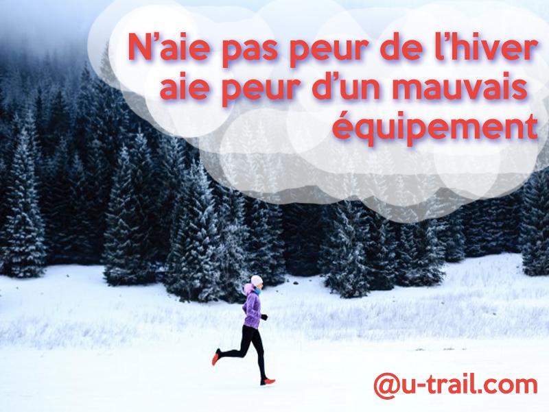 motivation equipement trail