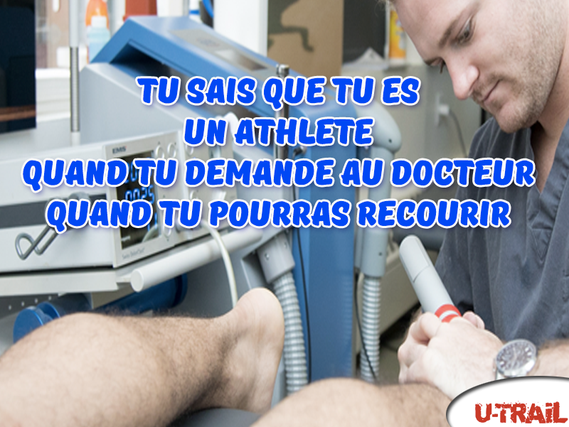 motivation trail blessure docteur