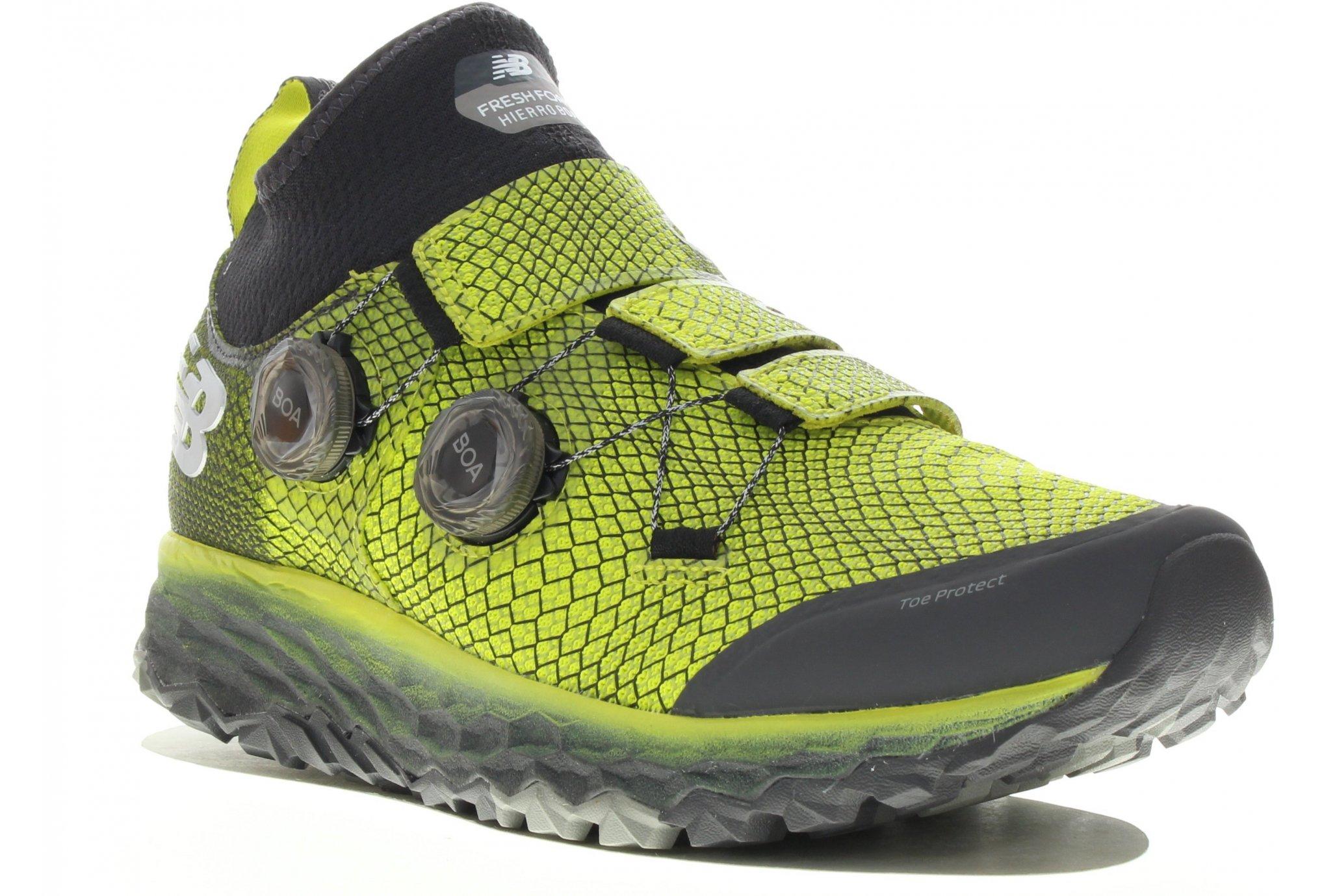 nouveau produit dce51 bfed2 New Balance Fresh Foam Hierro BOA : la chaussure de vos ...