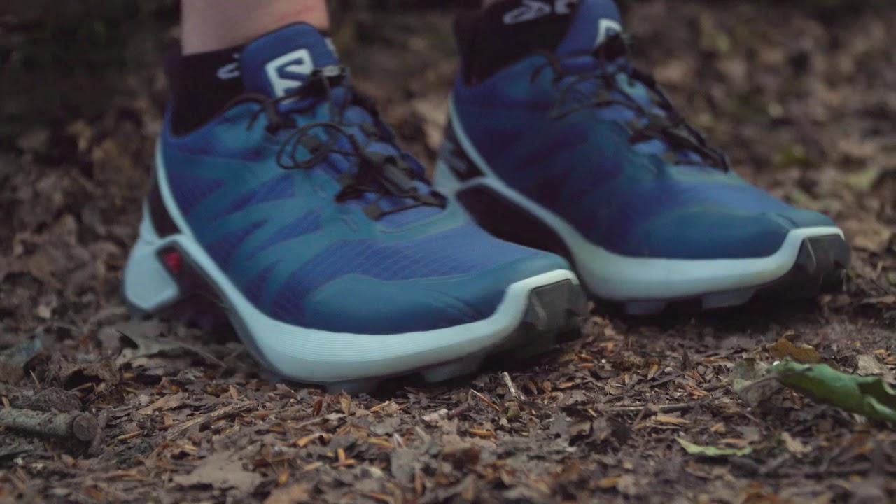 Salomon Supercross, une bonne chaussure pour l'hiver qui