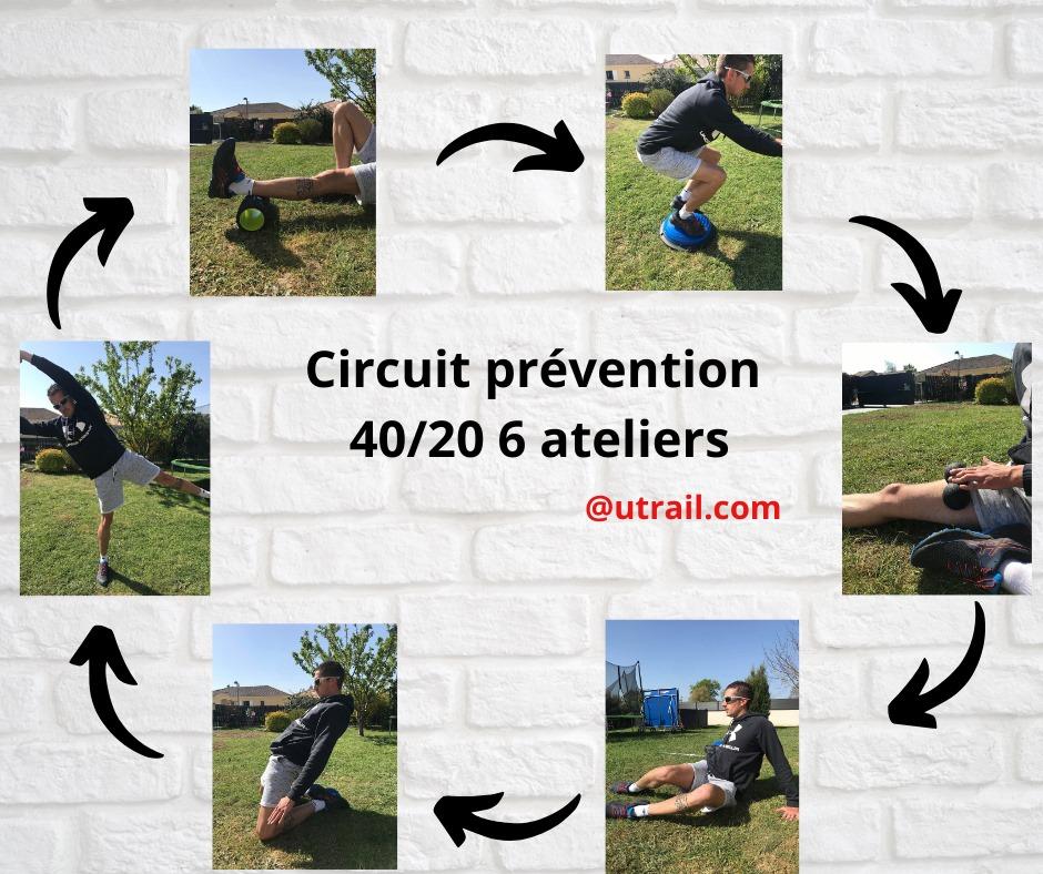 circuit prévention trail