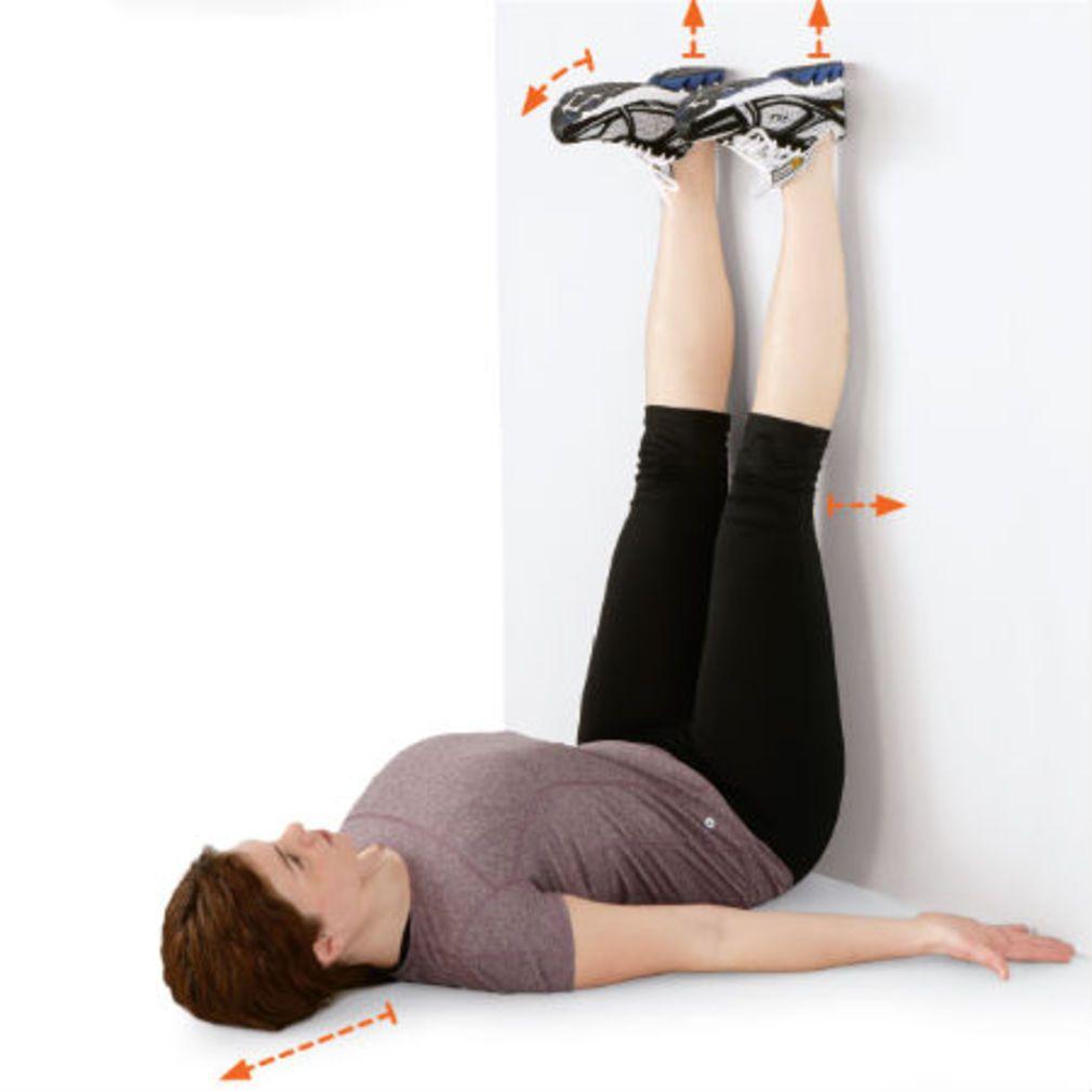 etirements ischio jambiers pour douleur au genou